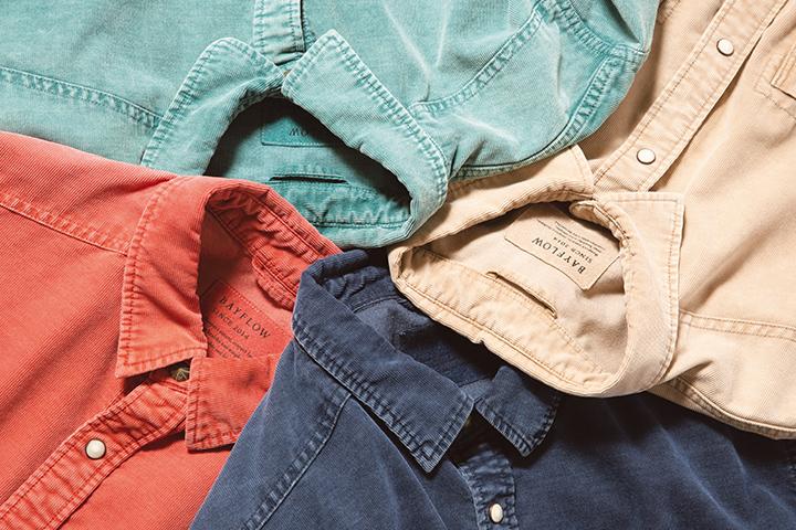 定番シャツを今っぽく着る方法