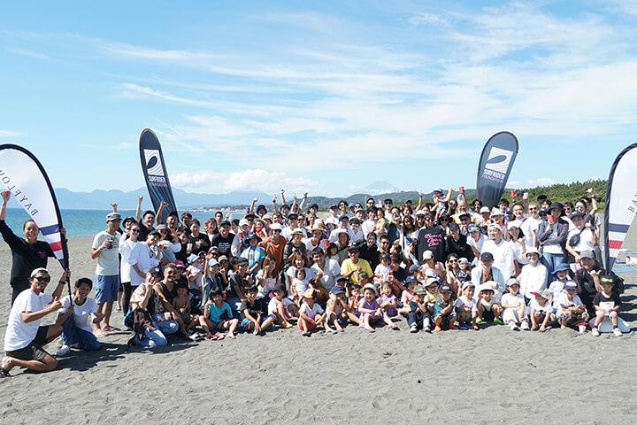 〜海や自然の未来を守る〜ビーチクリーンイベントを湘南で開催。